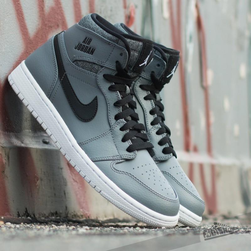 best sneakers cbeb8 ea23f Air Jordan 1 Retro High BG Cool Grey White-Black-White