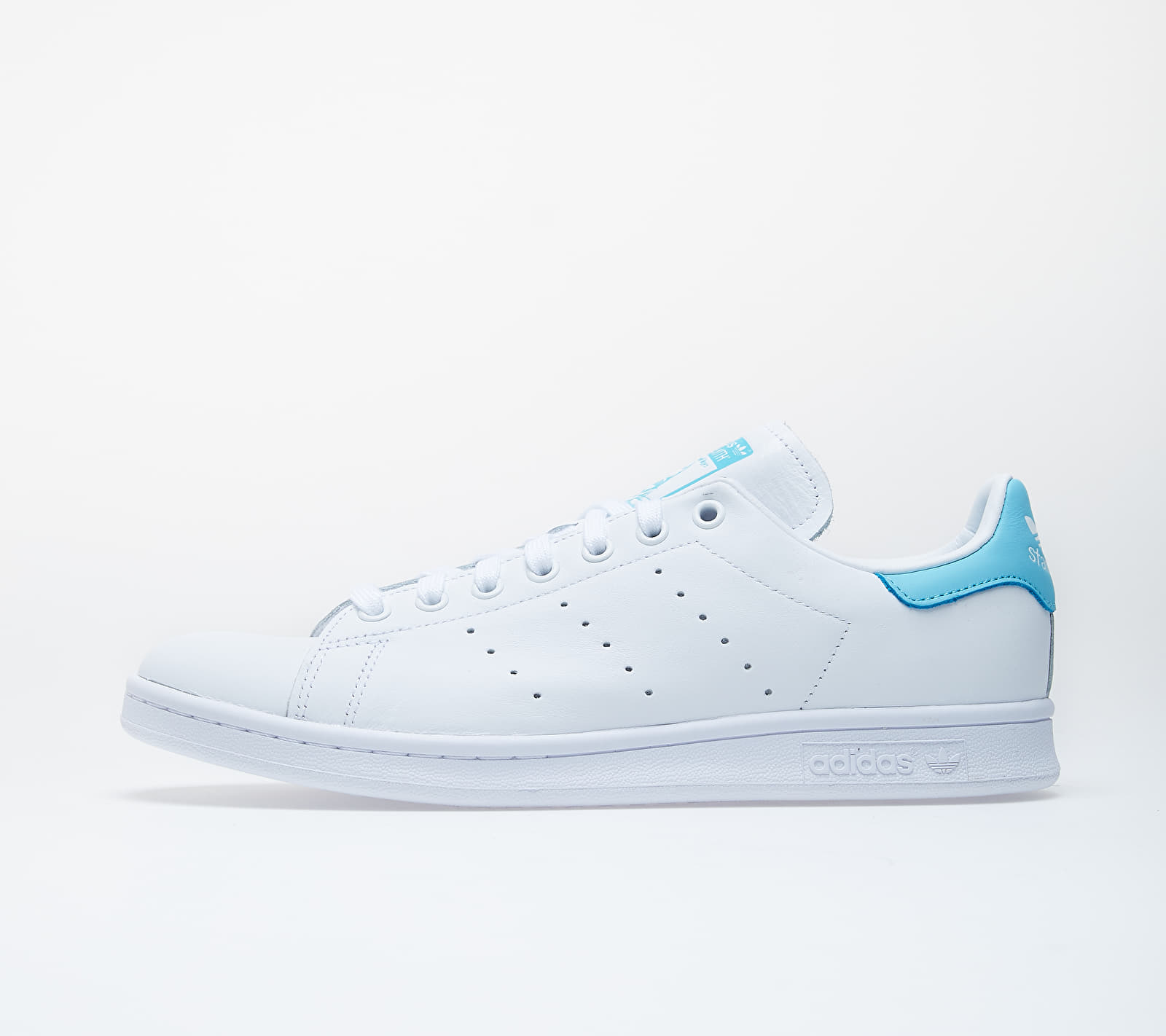 adidas Stan Smith Ftw White/ Ftw White/ Blue Glow EUR 46