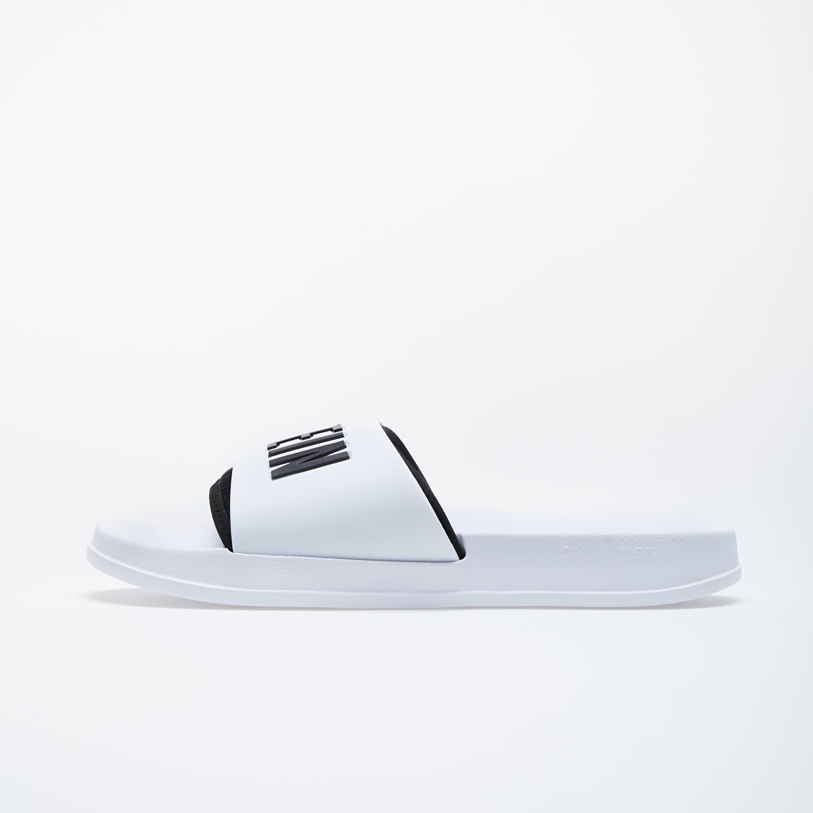 Men's shoes Calvin Klein Slide White