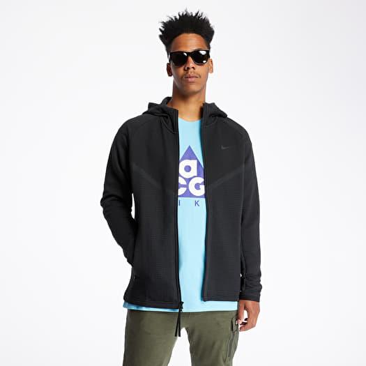 Disfraces Convención compañero  Sweatshirts Nike Sportswear Tech Pack Wr Engineered Hoodie Black/  Anthracite/ Black