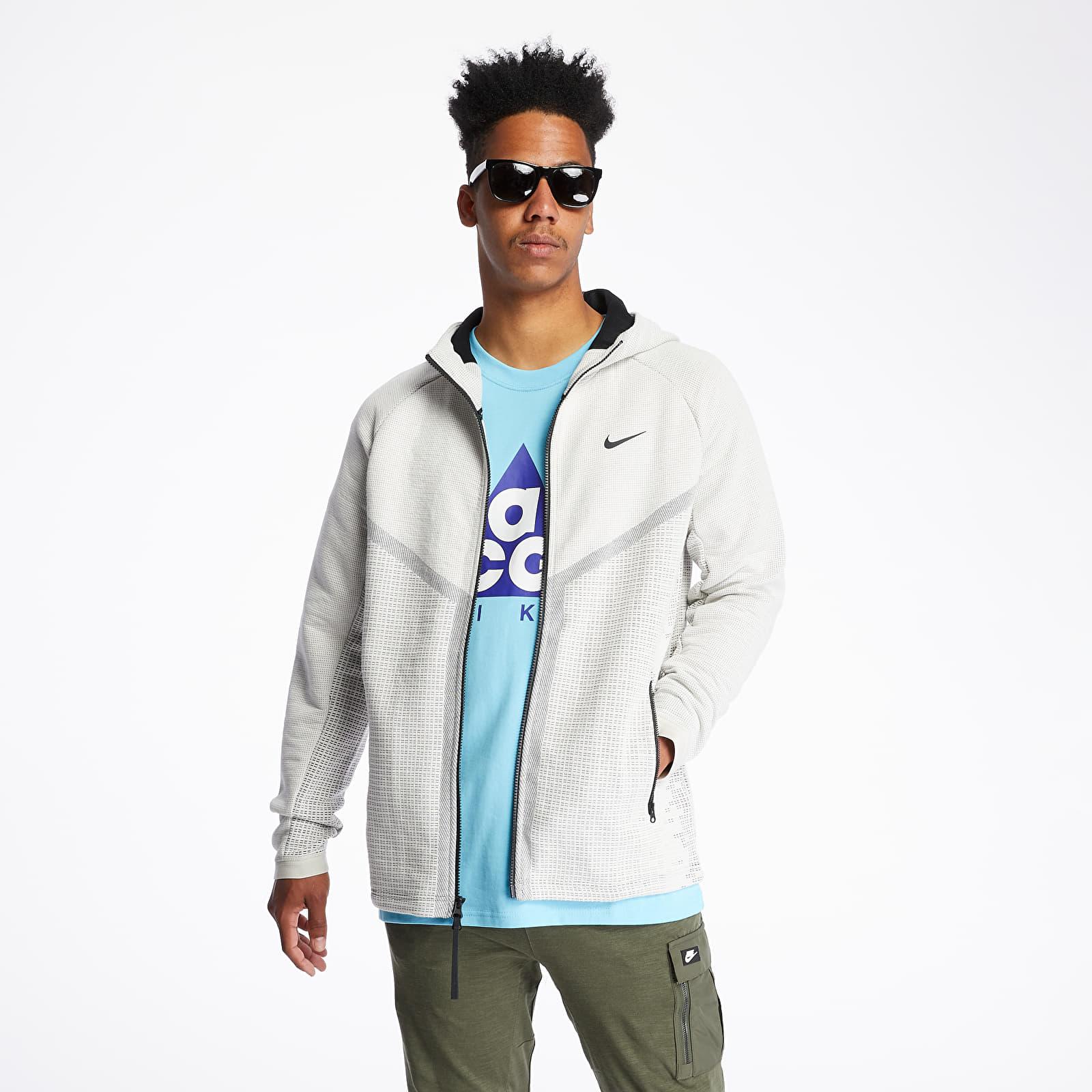 Especialidad moderadamente impermeable  Sweatshirts Nike Sportswear Tech Pack Wr Engineered Hoodie Light Bone/  Black/ Black | Footshop