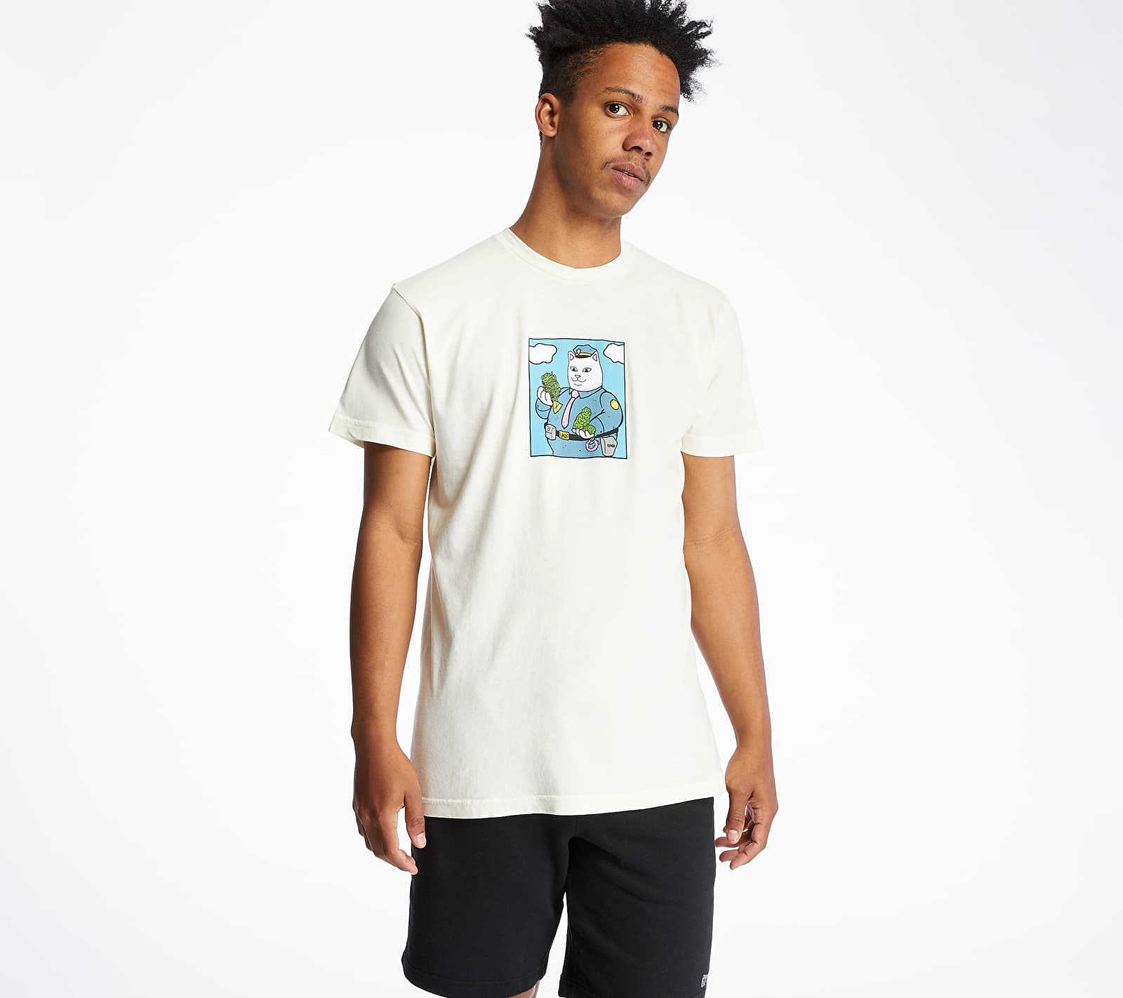 RIPNDIP Confiscated Tee Natural