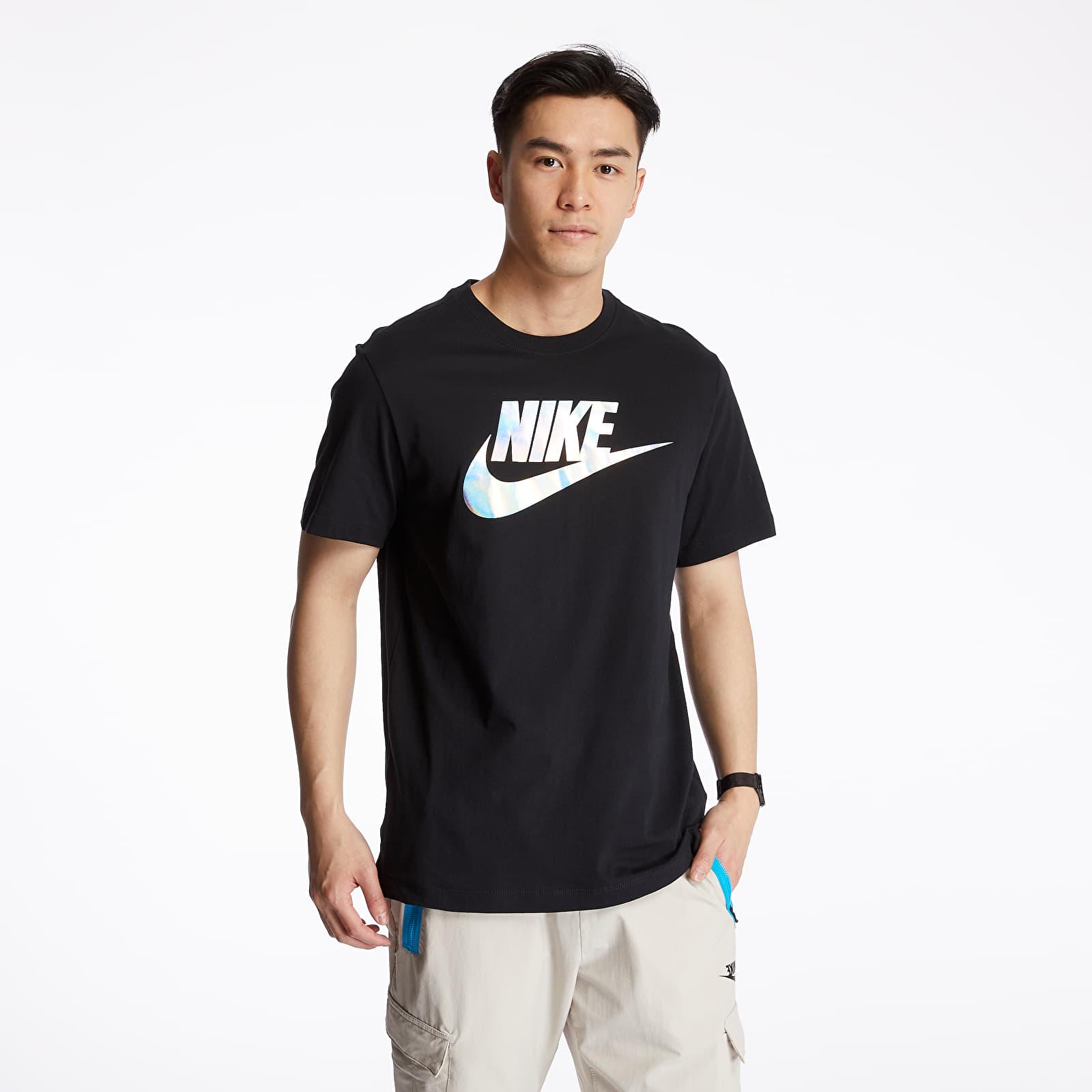 Trička Nike Sportswear Festival Hybrid Tee Black