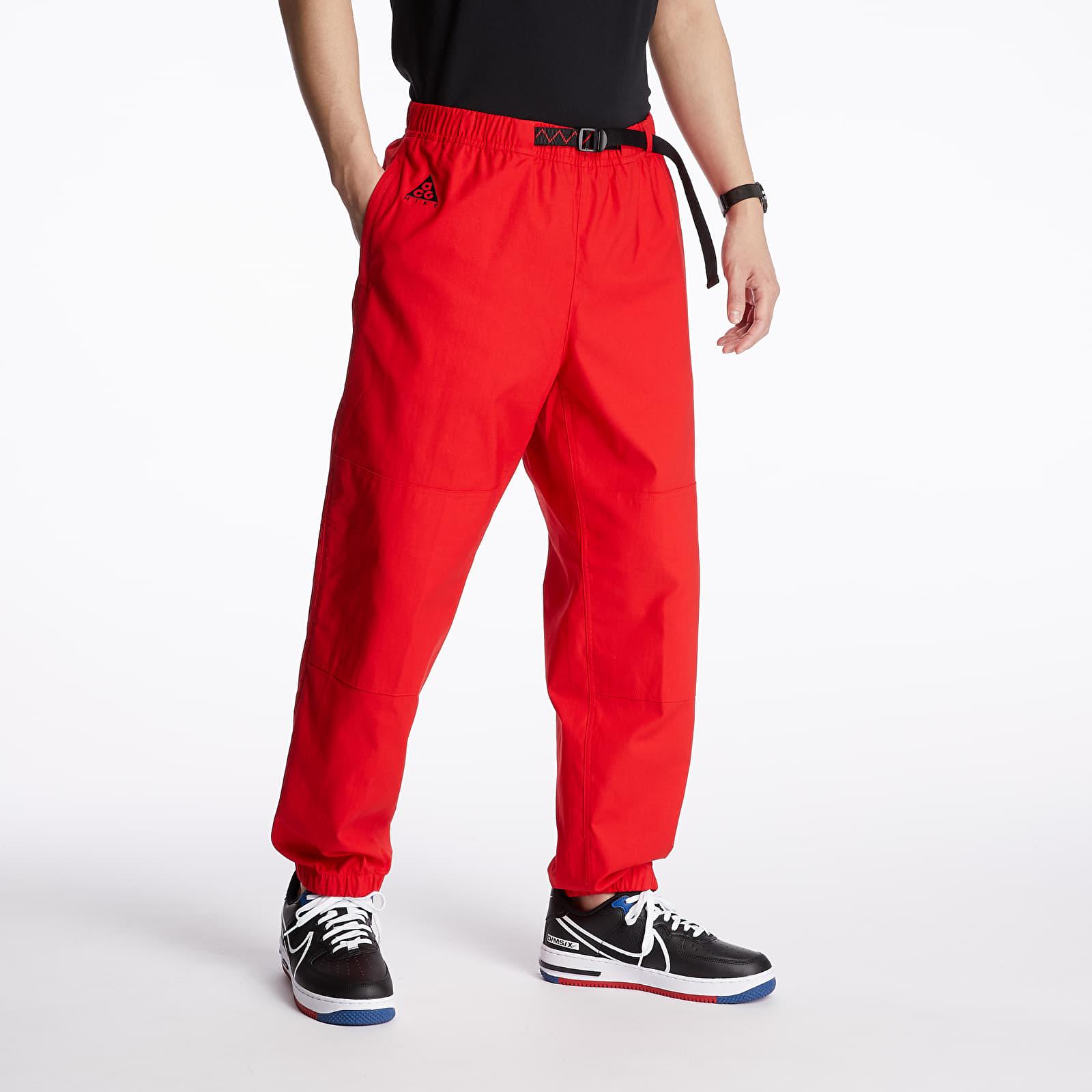 Pants and jeans Nike NRG ACG Trail Pants University Red/ Black