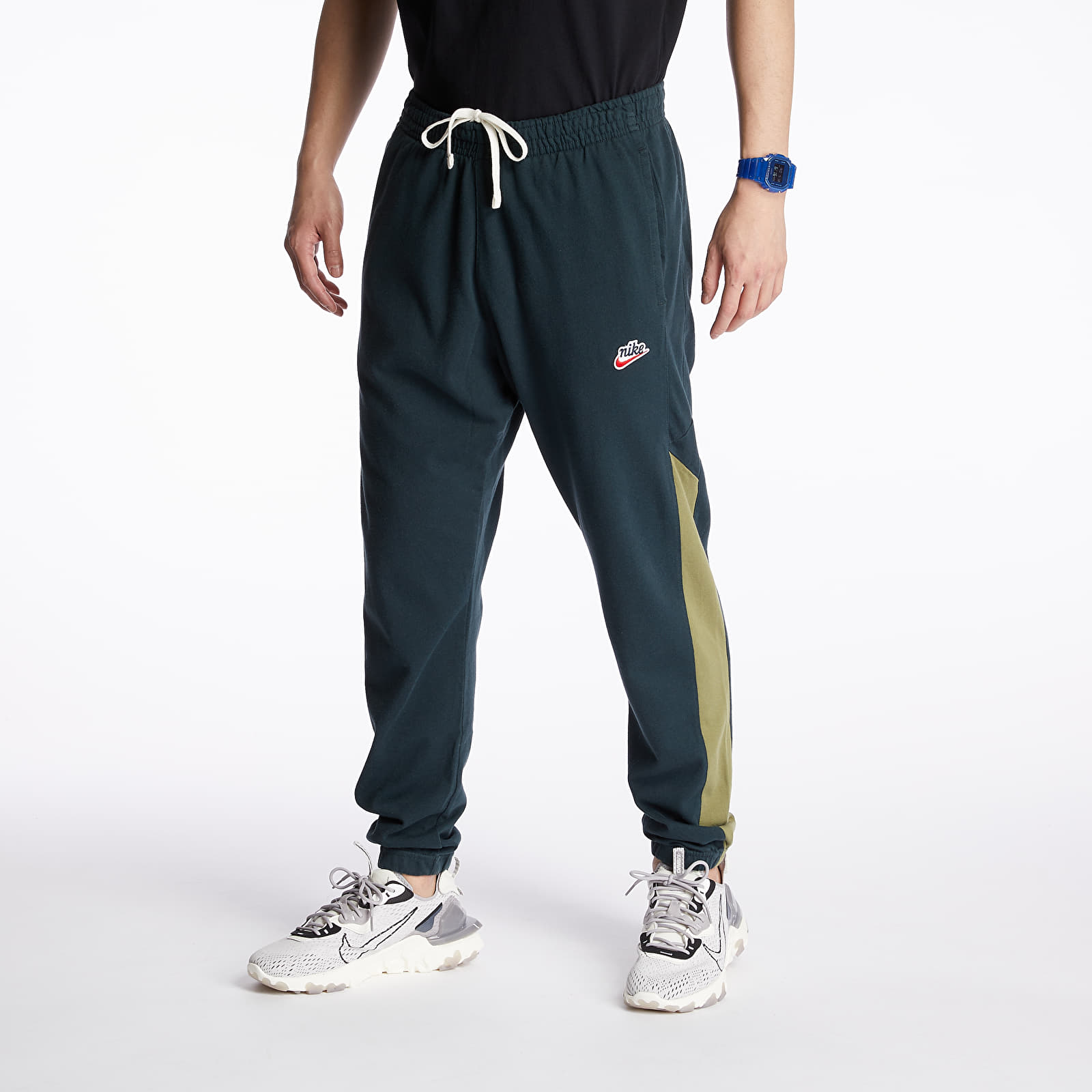 Pants and jeans Nike Sportswear Heritage Signature Pants Seaweed/ Thermal Green/ Sail