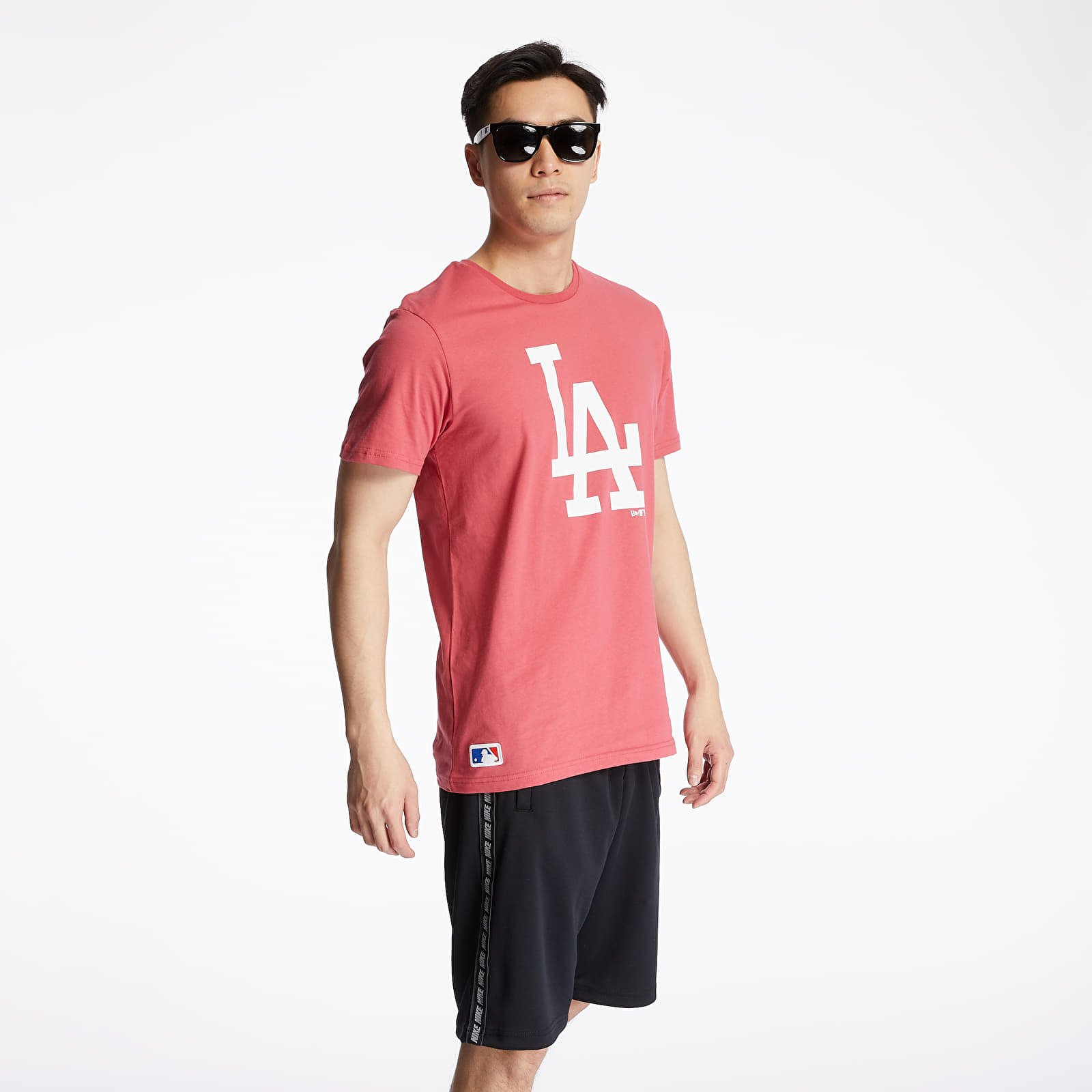 T-Shirts New Era Los Angeles Dodgers Seasonal Team Logo Tee Pink