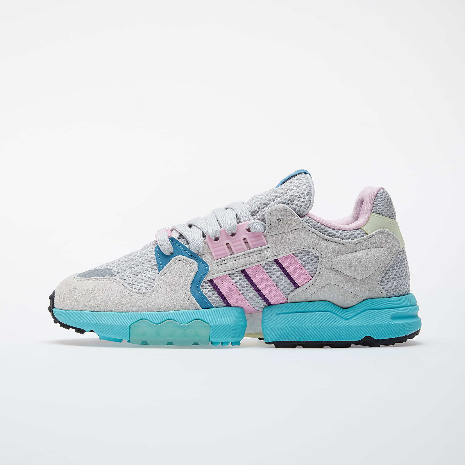 Women's shoes adidas ZX Torsion W Grey One/ Grey Two/ True Pink