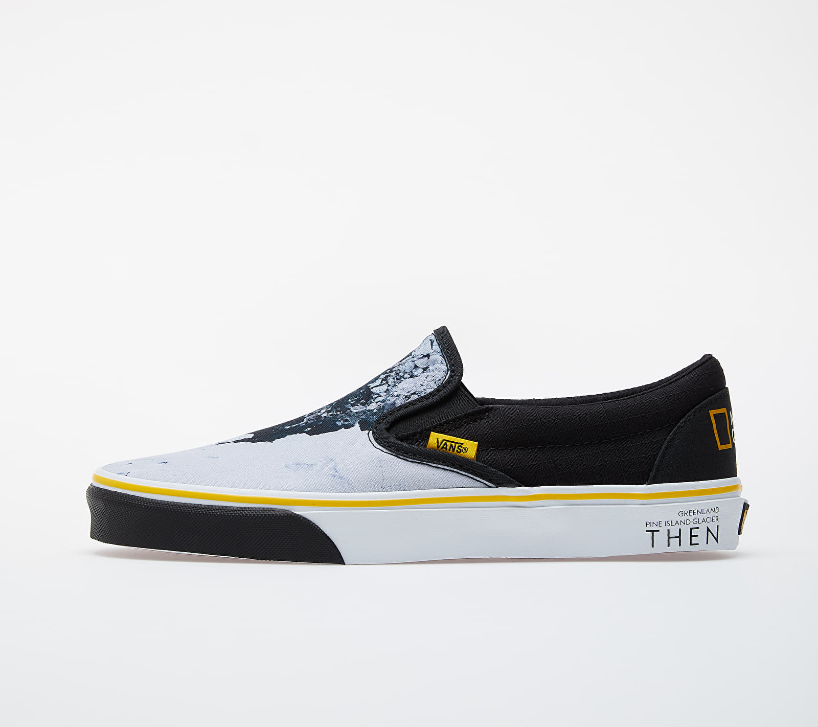 Vans Classic Slip-On (National Geographic) Black/ White-Yellow EUR 46