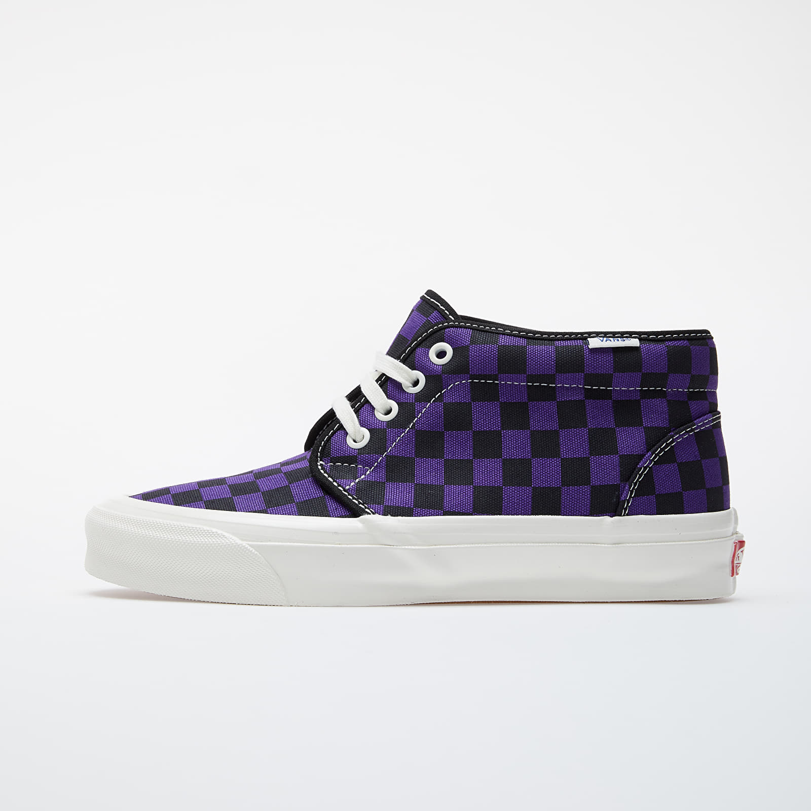 Férfi cipők Vans OG Chukka LX (Canvas/ Checkerboard) True Purple/ Grey/ Marshmallow