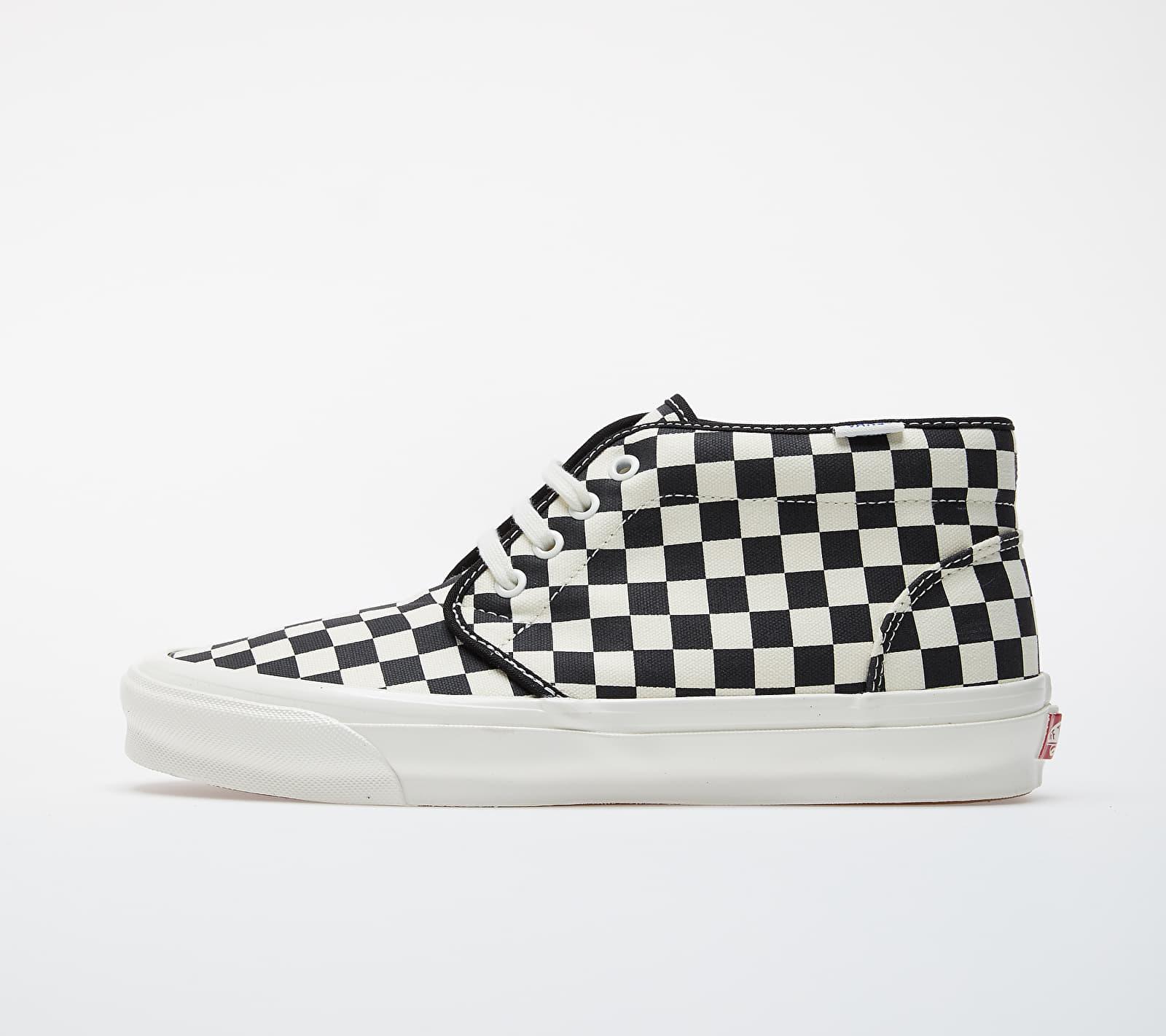 Vans Vault OG Chukka LX (Canvas/ Checkerboard) Black/ White EUR 44