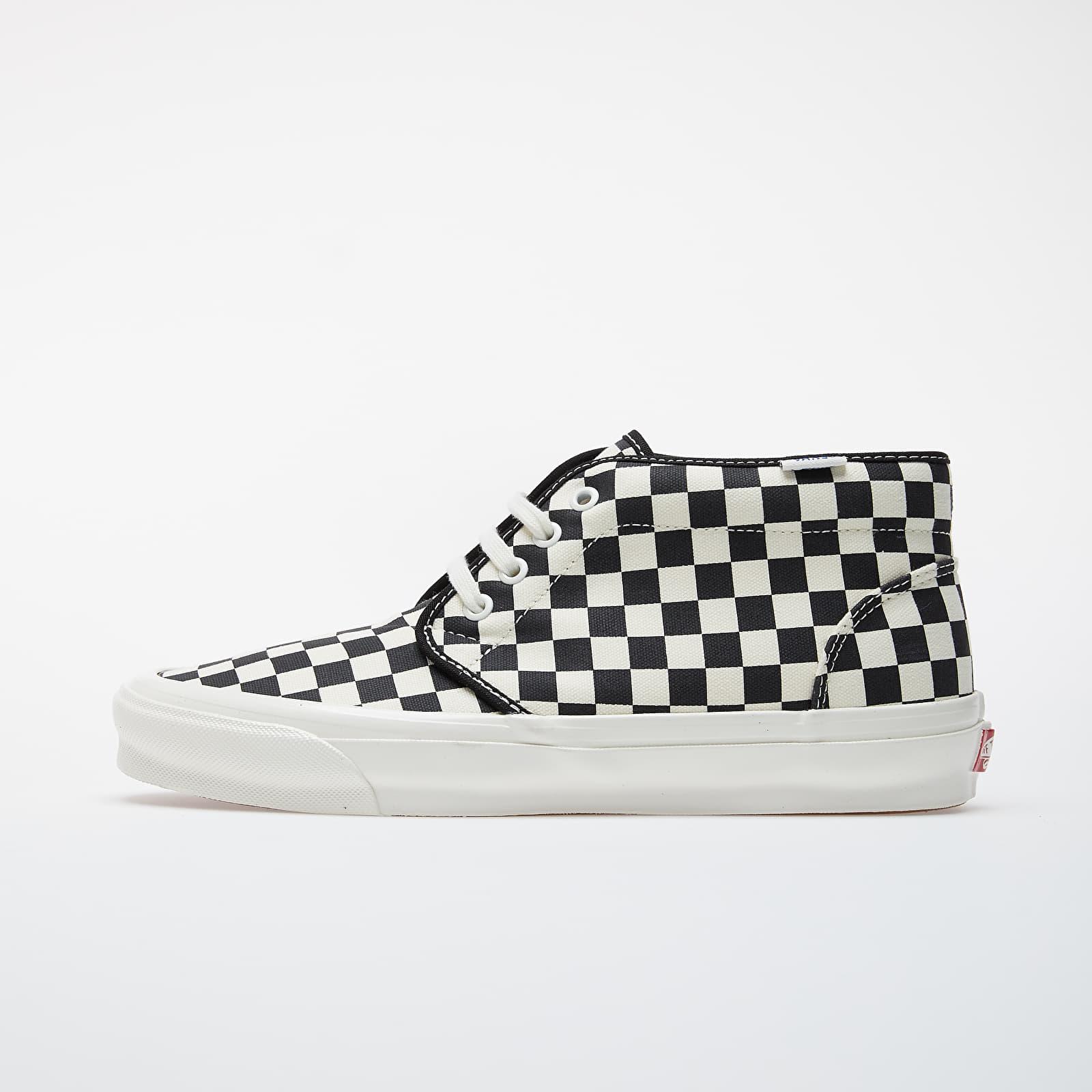 Férfi cipők Vans OG Chukka LX (Canvas/ Checkerboard) Black/ White