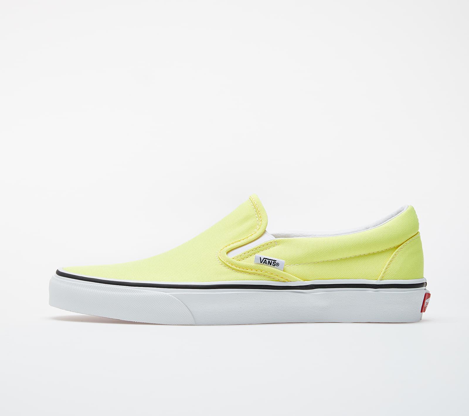Vans Classic Slip-On (Neon) Lemon Tonic/ True White EUR 40.5