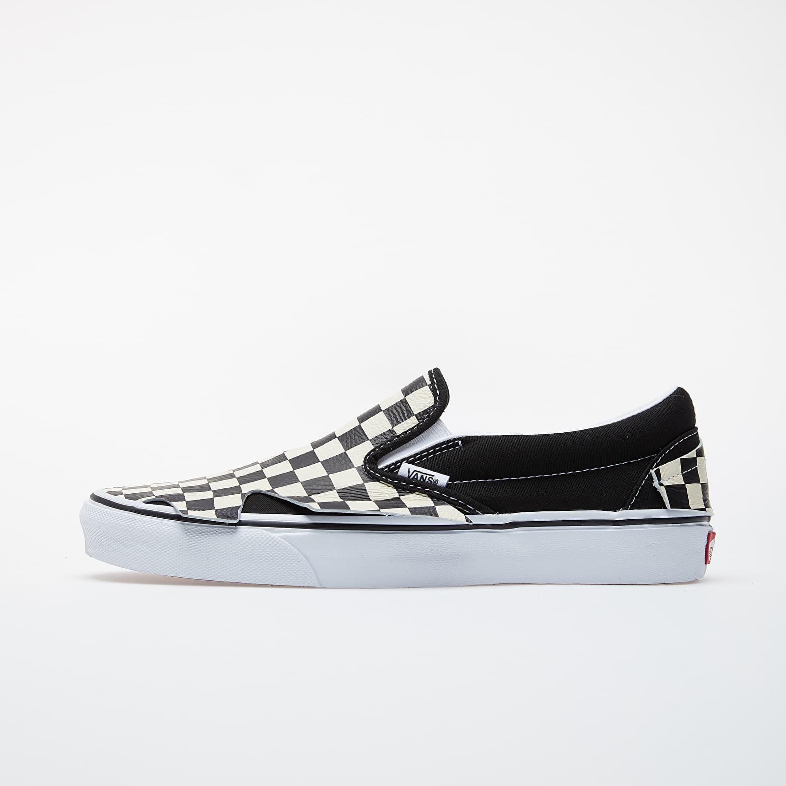 Men's shoes Vans Classic Slip-On Origami Checkerboard/ True White