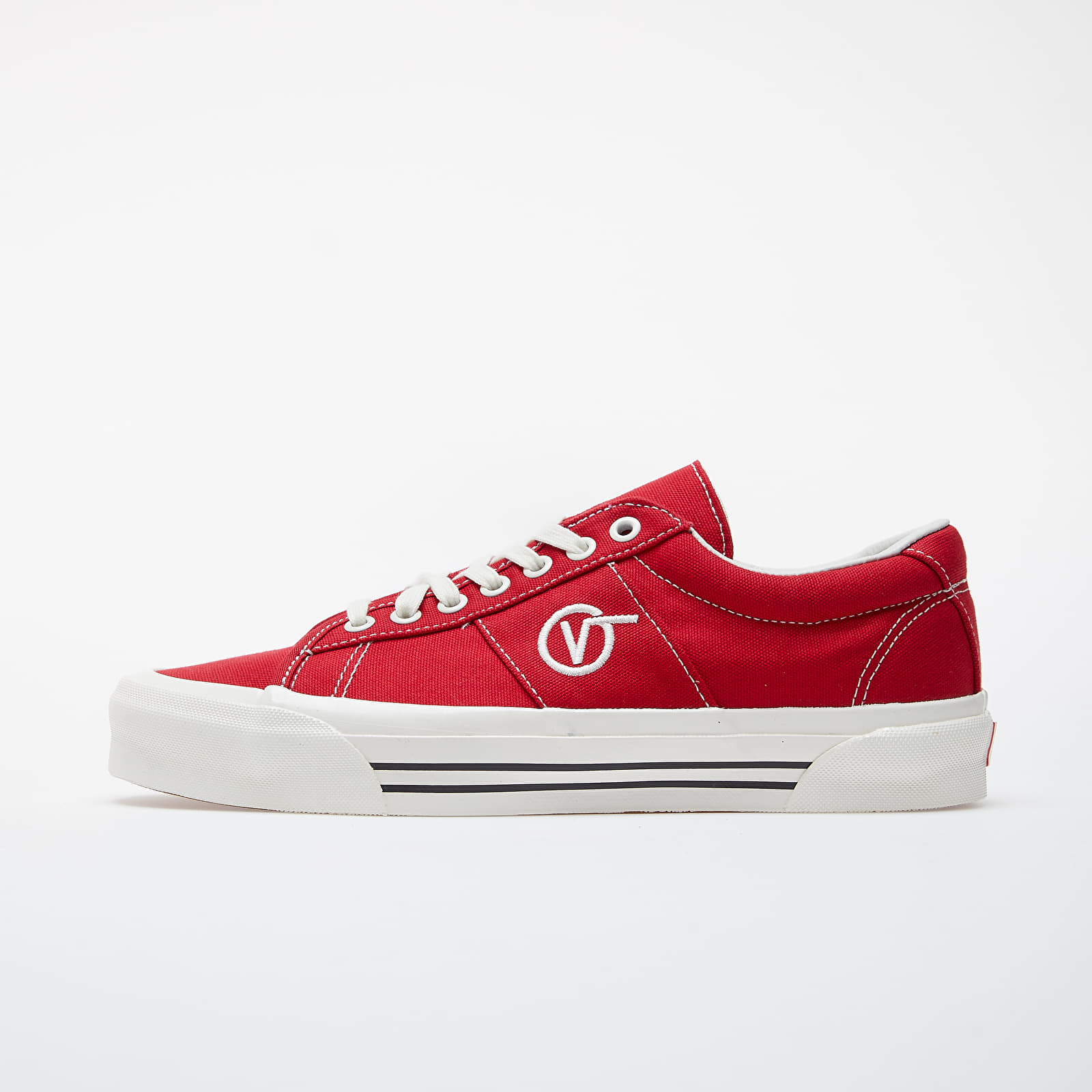 Pánské tenisky a boty Vans OG Sid LX (Canvas) Racing Red/ Marshmallow