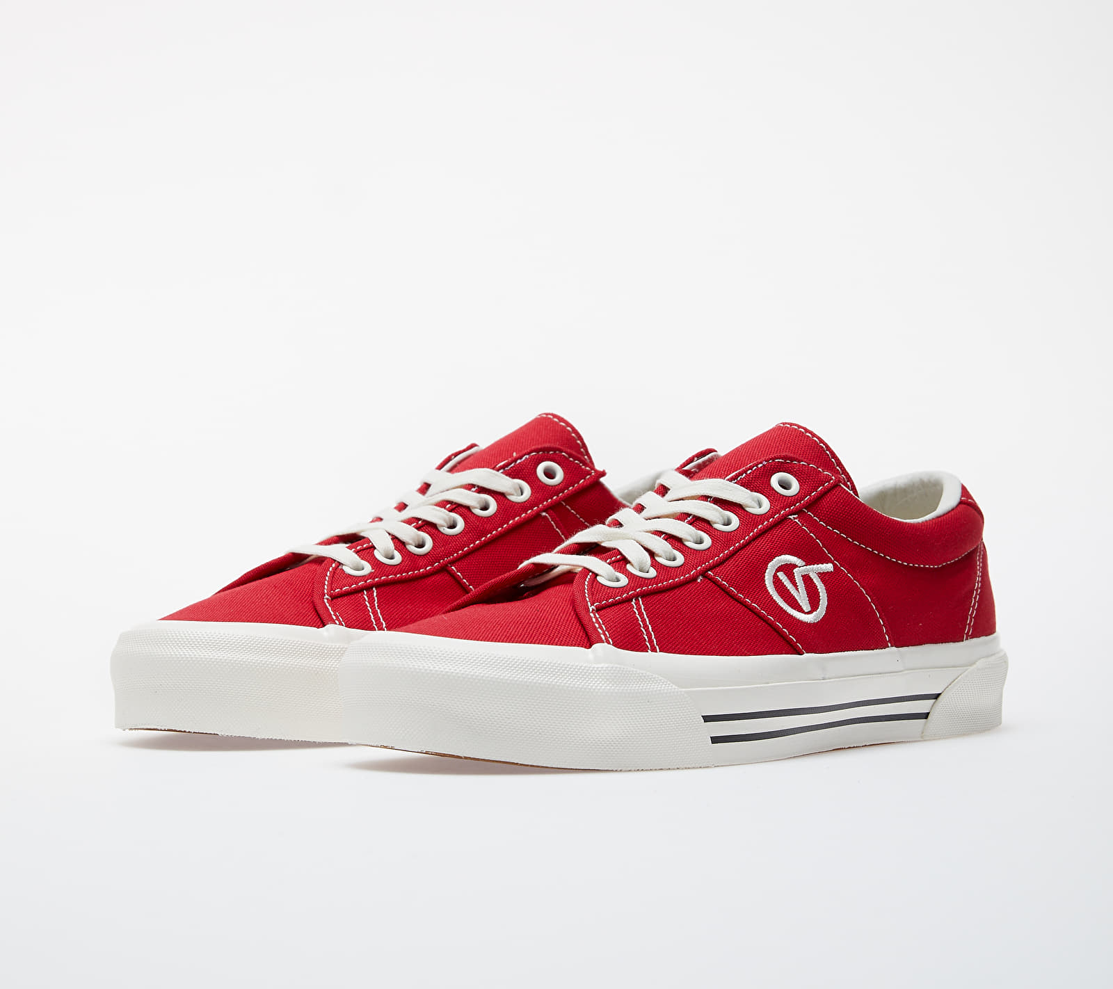 Vans OG Sid LX (Canvas) Racing Red/ Marshmallow