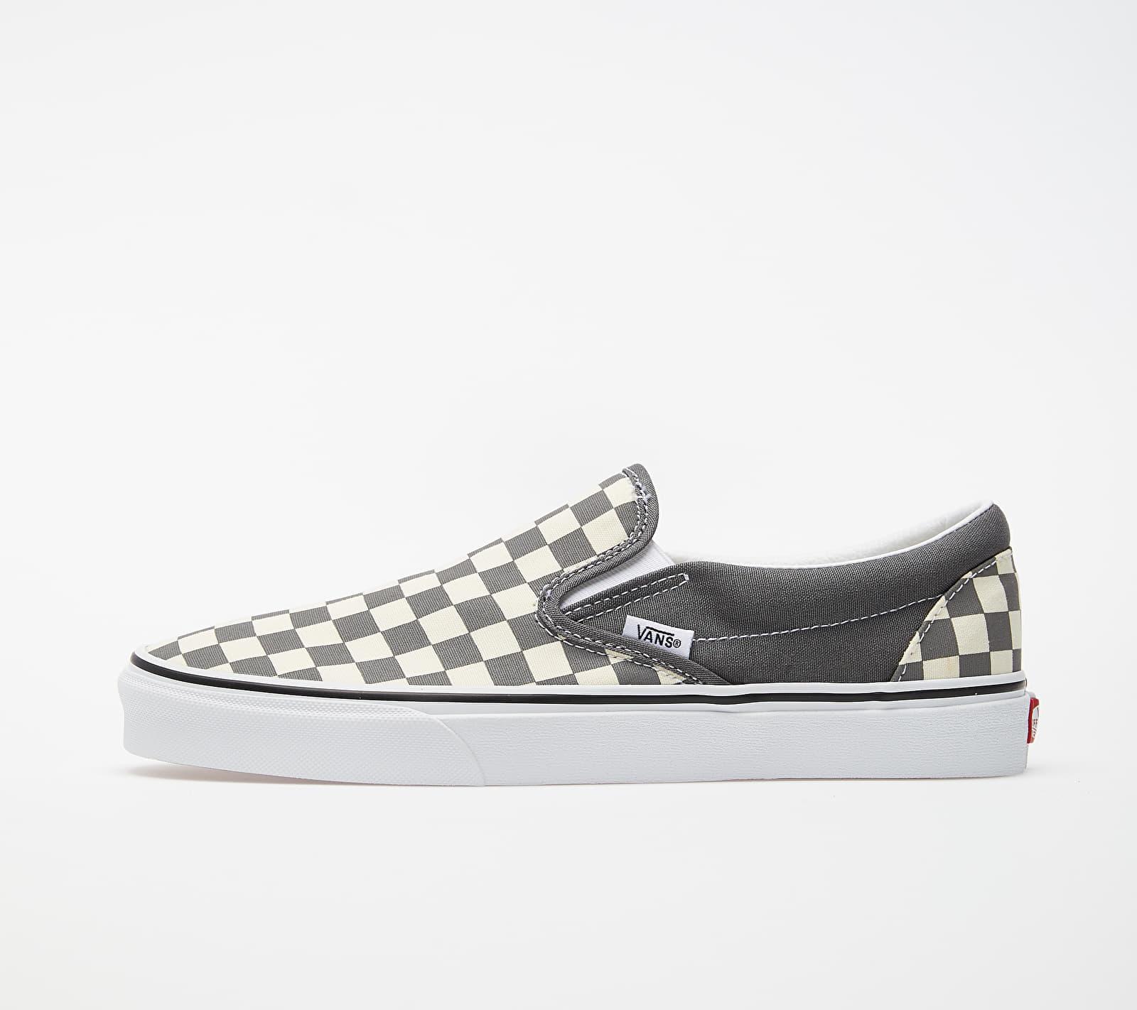 Vans Classic Slip-On (Checkerboard) Pewter/ True White EUR 42.5