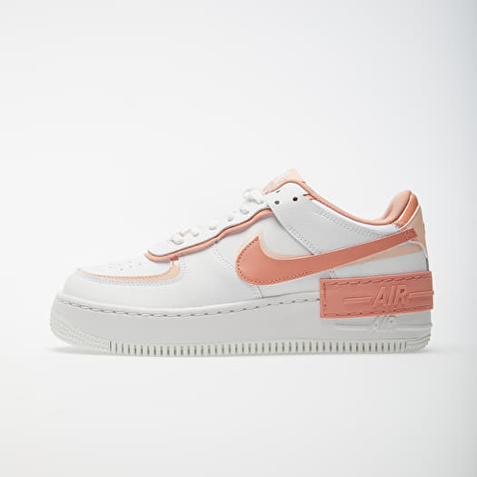 Women S Shoes Nike W Air Force 1 Shadow Summit White Pink Quartz Washed Coral Footshop If you want something that is universally appealing, the air force 1 low is here to meet your needs. nike w air force 1 shadow summit white pink quartz washed coral footshop