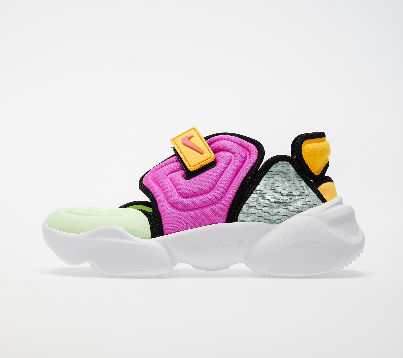 Nike W Aqua Rift Barely Volt/ Fire Pink-Laser Orange 1