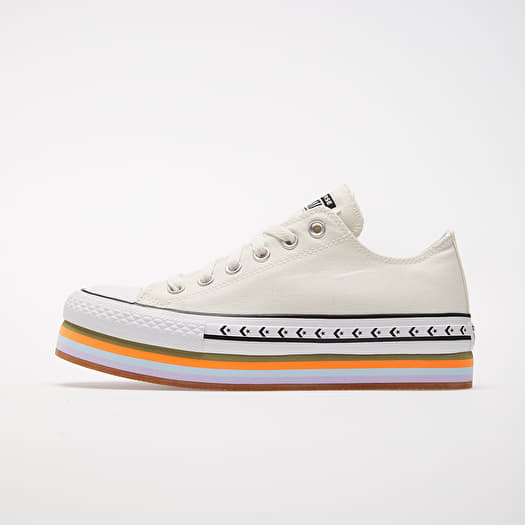 converse femme baskets chuck taylor all star platform layer ox