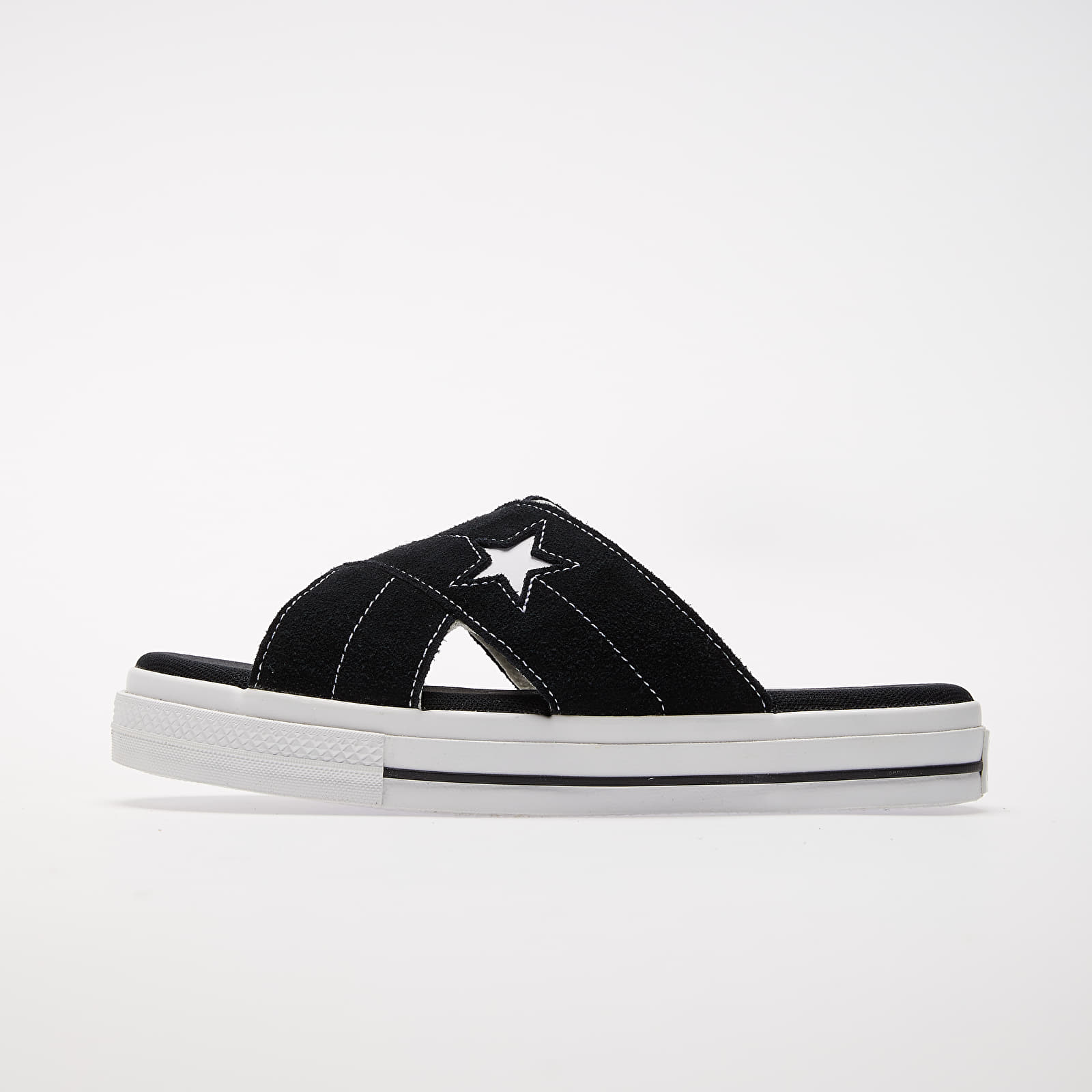 Women's shoes Converse One Star Sandal Black/ Egret/ White