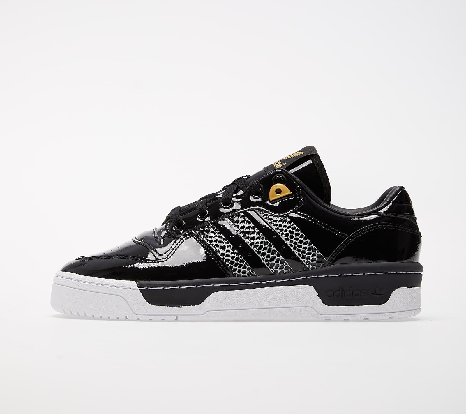 adidas Rivalry Low W Core Black/ Ftw White/ Gold Metalic 1