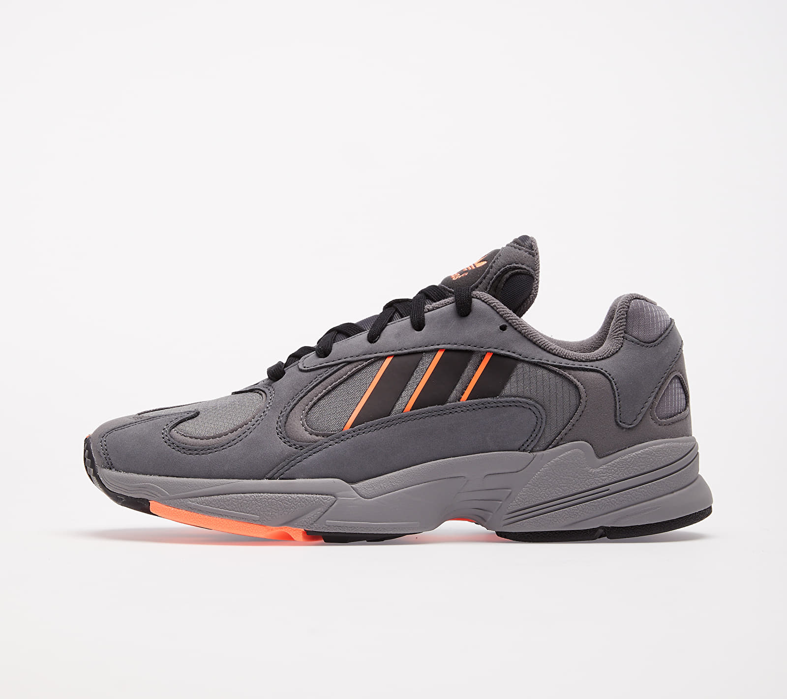 adidas Yung-1 Grey Six/ Core Black/ Signature Coral EUR 46 2/3