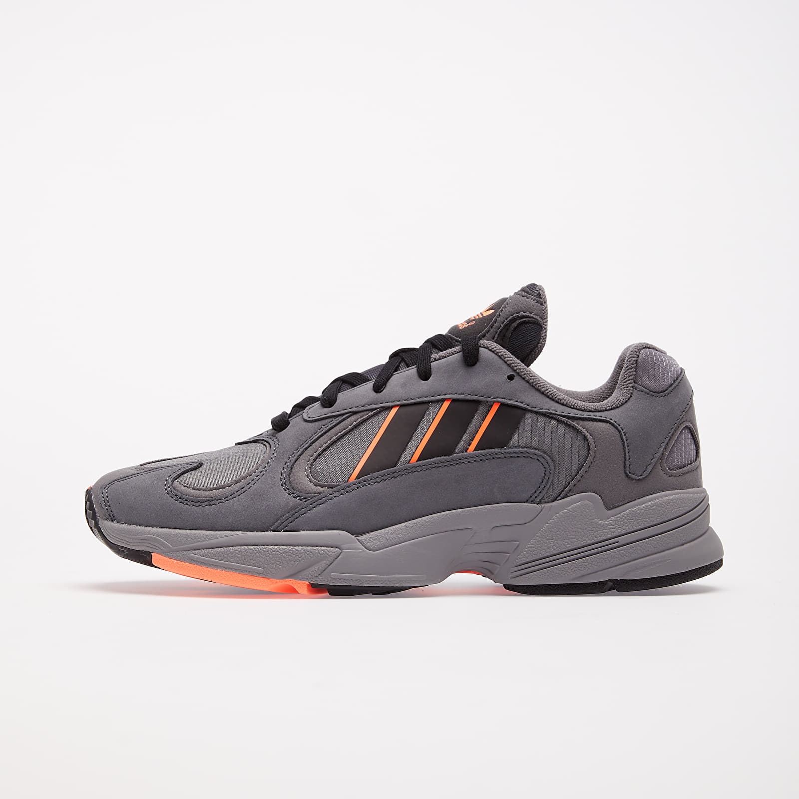 Männer adidas Yung-1 Grey Six/ Core Black/ Signature Coral