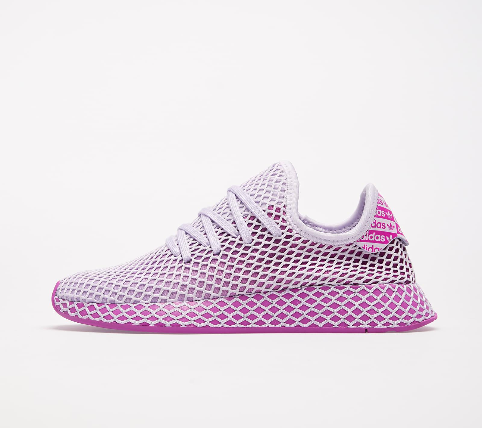 adidas Deerupt Runner W Purple Tint/ Purple Tint/ Vivid Pink 1