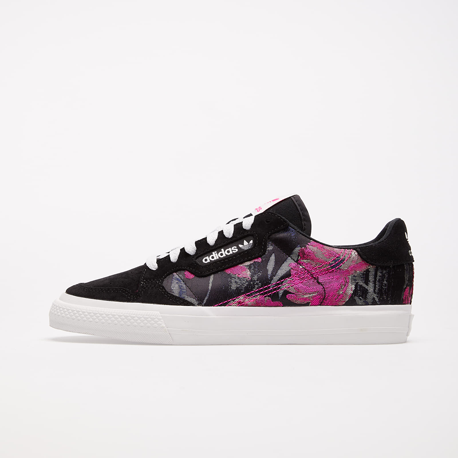 Frauen adidas Continental Vulc W Core Black/ Crystal White/ Shock Pink