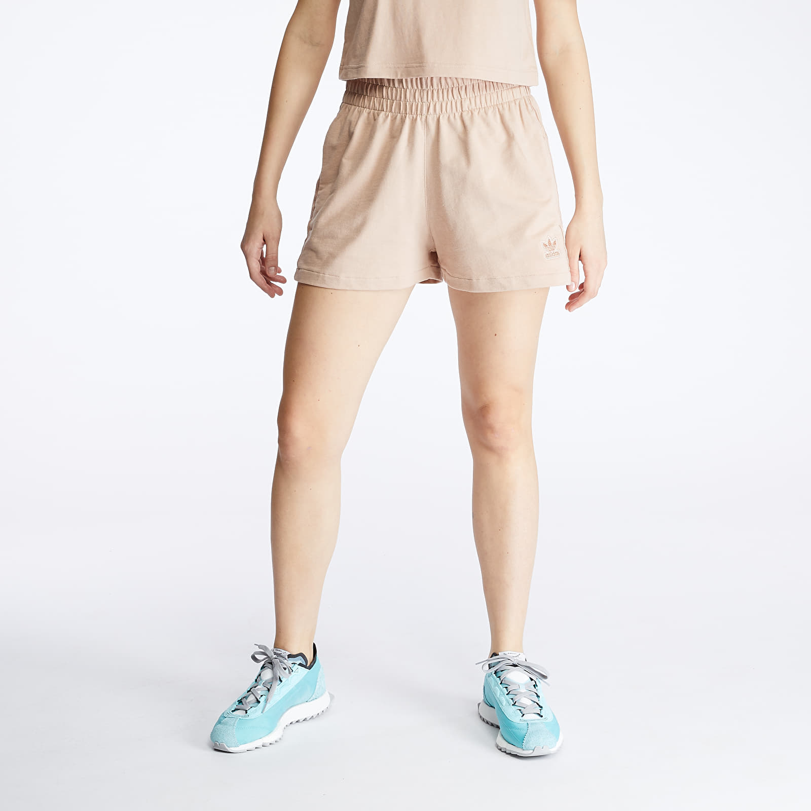 Rövidnadrágok adidas 3 Stripes Short Ash Pearl
