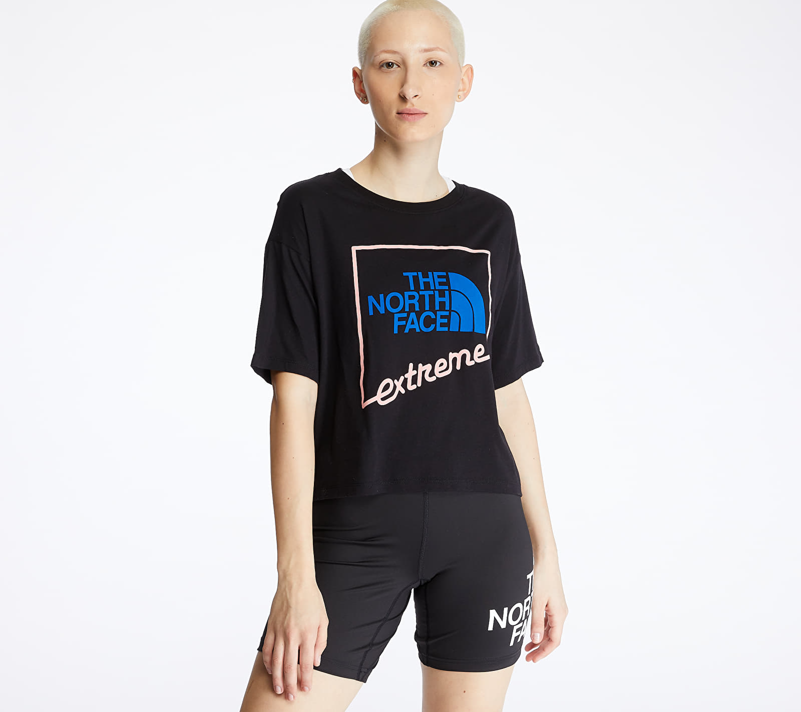 The North Face Extreme Crop Tee Black