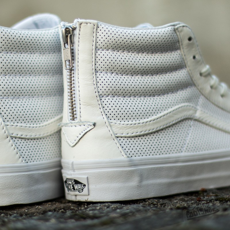 Perf Leather SK8 Hi Slim Zip