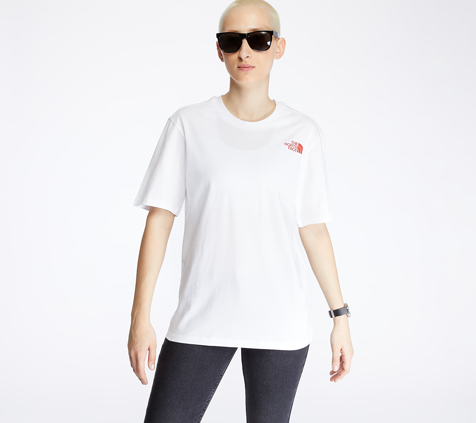 The North Face Redbox Tee White