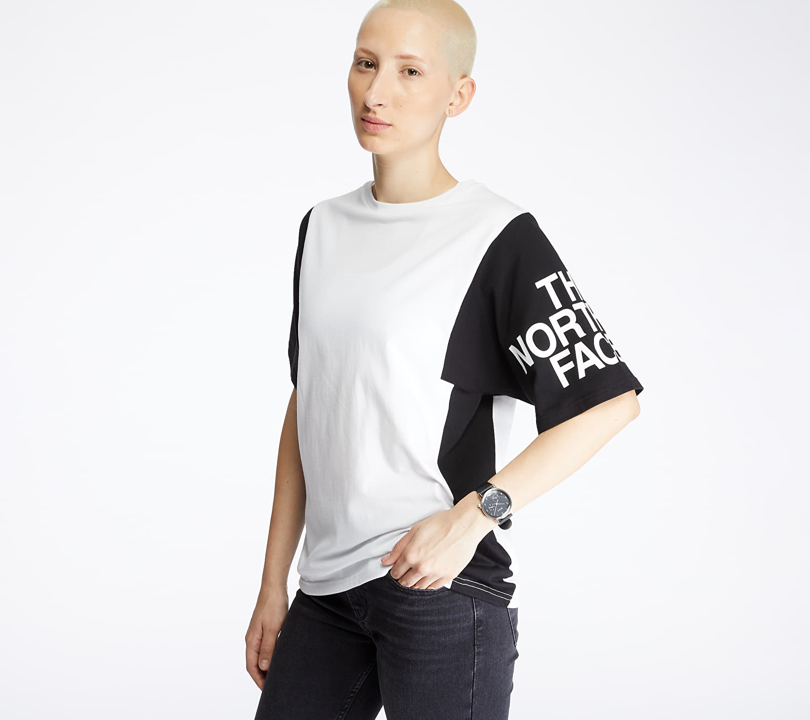 The North Face Squared Boxy Tee White