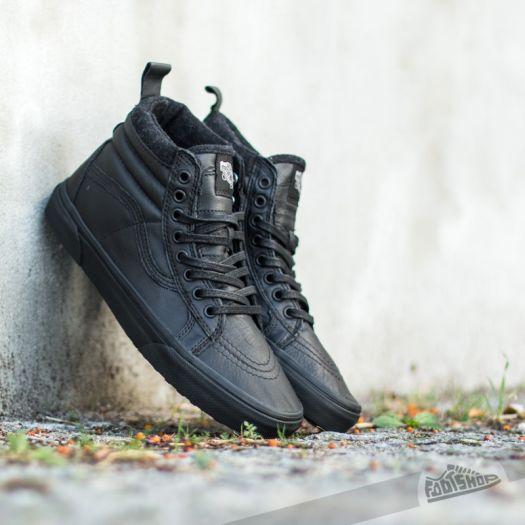 Men's shoes Vans Sk8-Hi MTE Black/ Leather