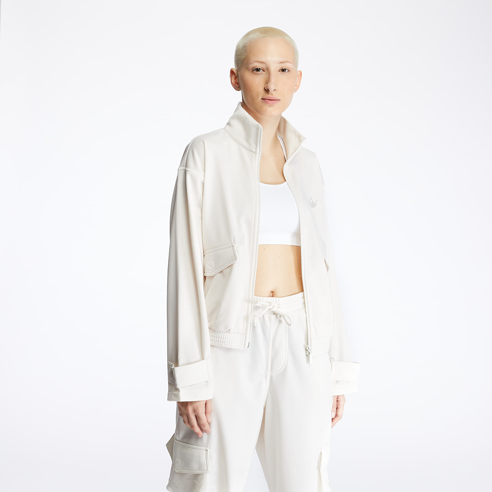 Sweatshirts adidas Track Top Core White