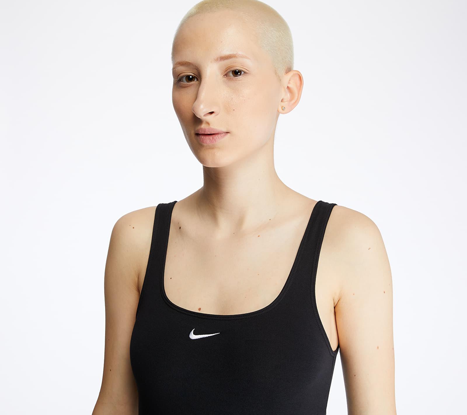 Nike Sportswear Essential Tank Bodysuit Black/ White