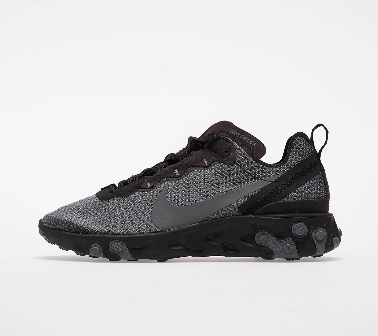 Nike React Element 55 SE Black/ Dark Grey EUR 38.5