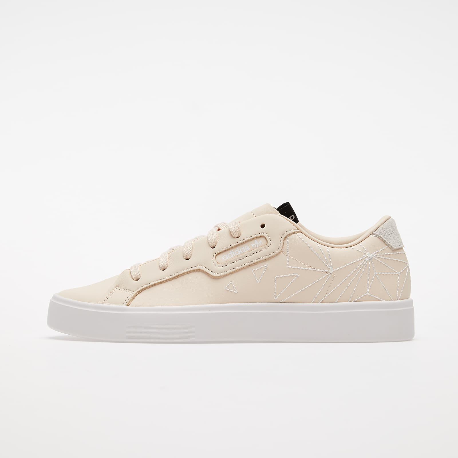 Dámské tenisky a boty adidas Sleek W Linen/ Crystal White/ Core Black