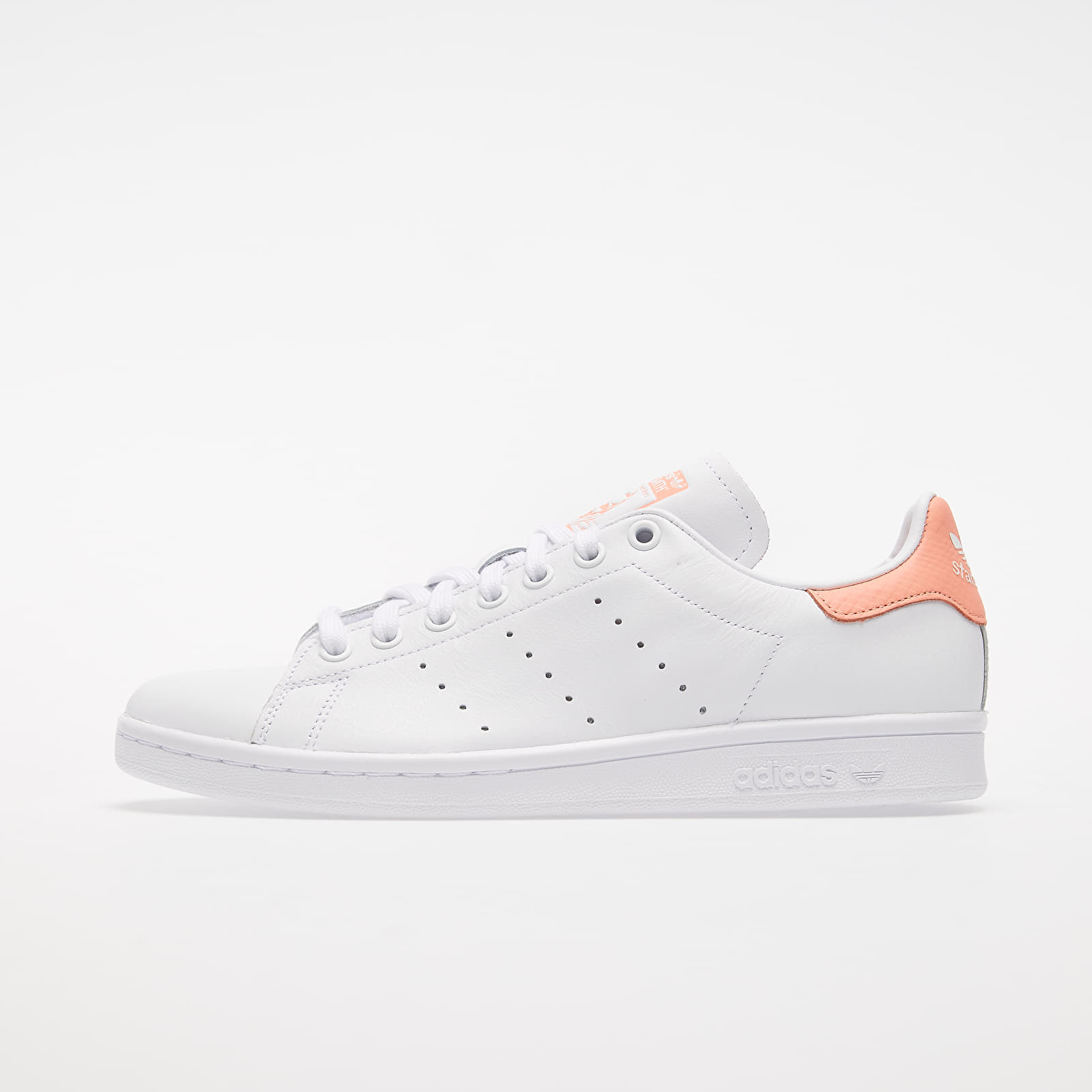 Chaussures et baskets femme adidas Stan Smith W Ftw White/ Ftw White/ Chalk Coral