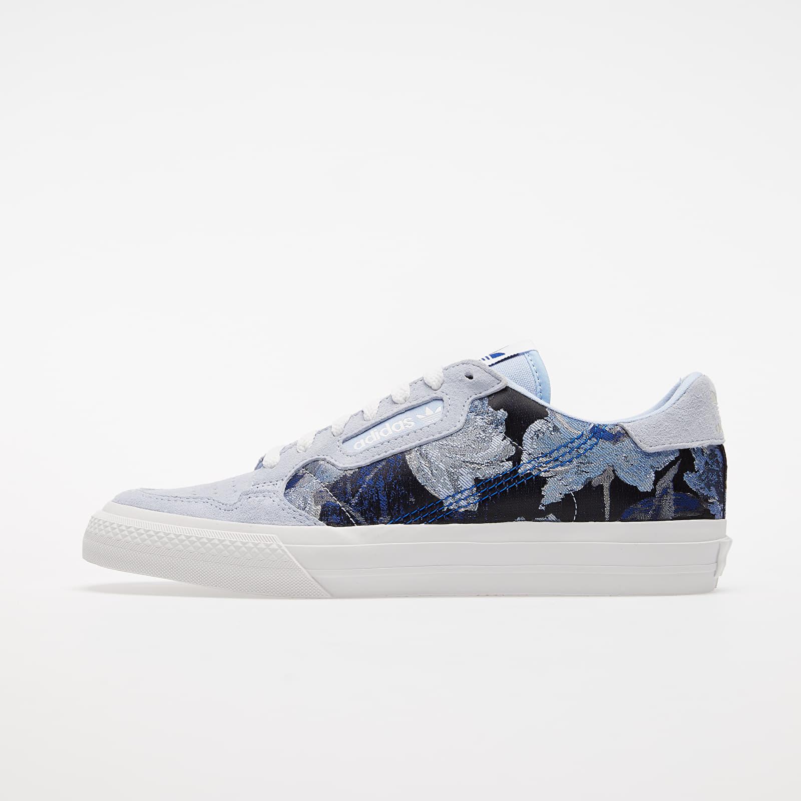 Scarpe e sneaker da donna adidas Continental Vulc W Periwinkle/ Crystal White/ Royal Blue