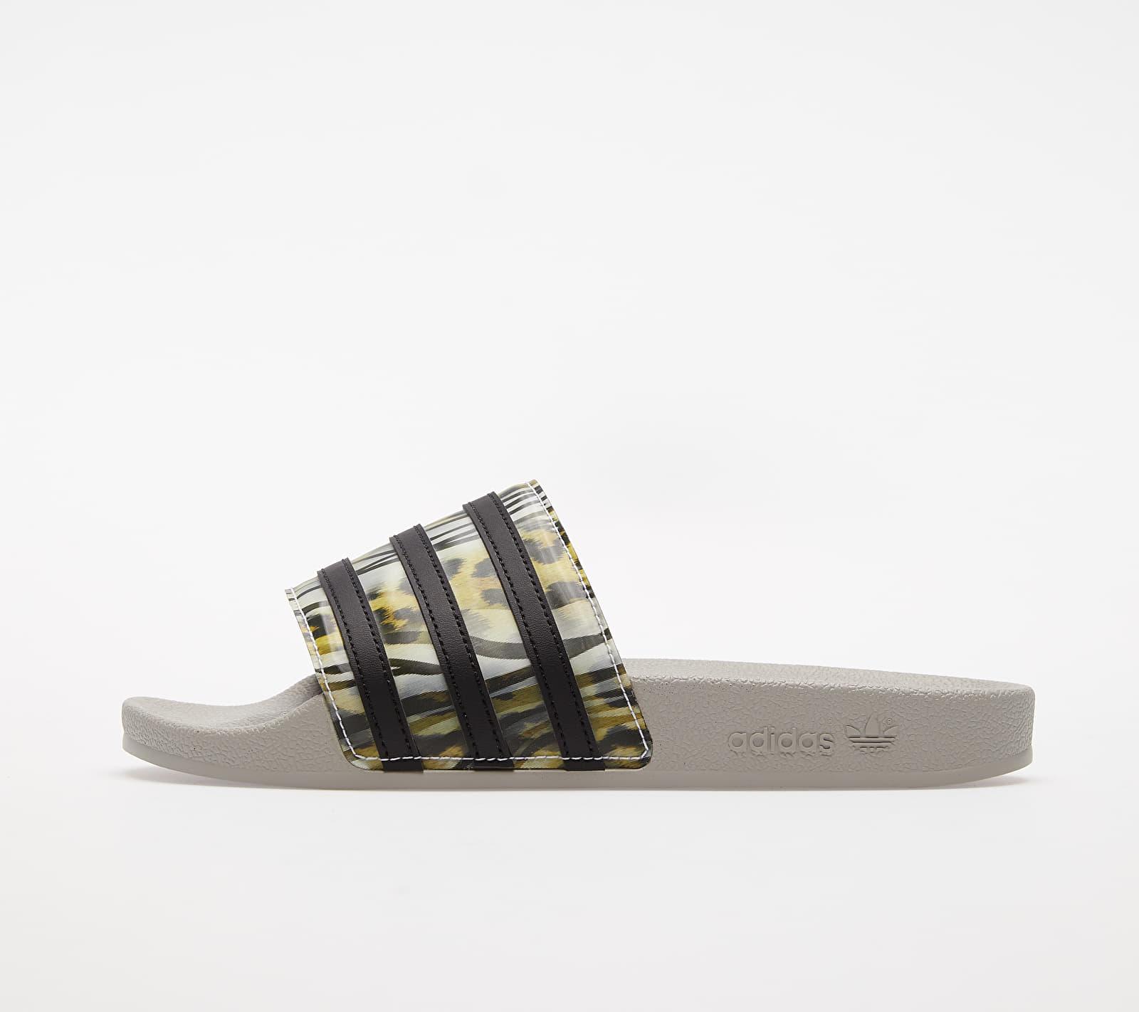adidas Adilette W Core Black/ Core Black/ Metalic Grey EUR 39