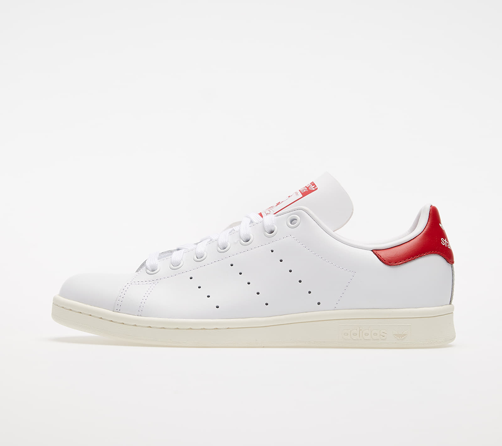 adidas Stan Smith Ftw White/ Off White/ Scarlet EUR 44