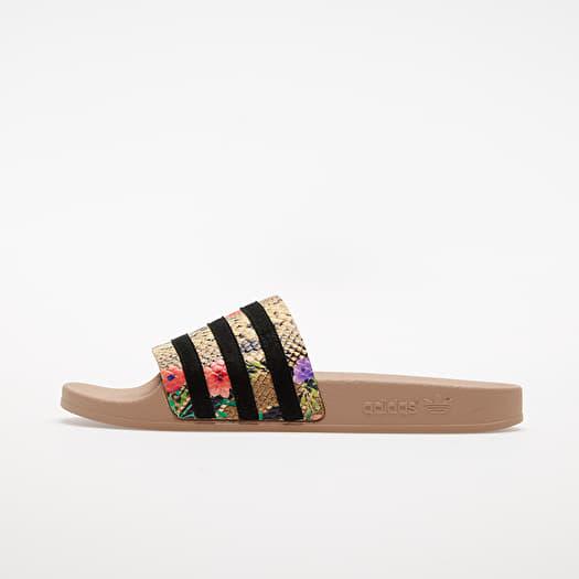 adidas Adilette W St Pale Nude/ Core Black/ St Pale Nude | Footshop