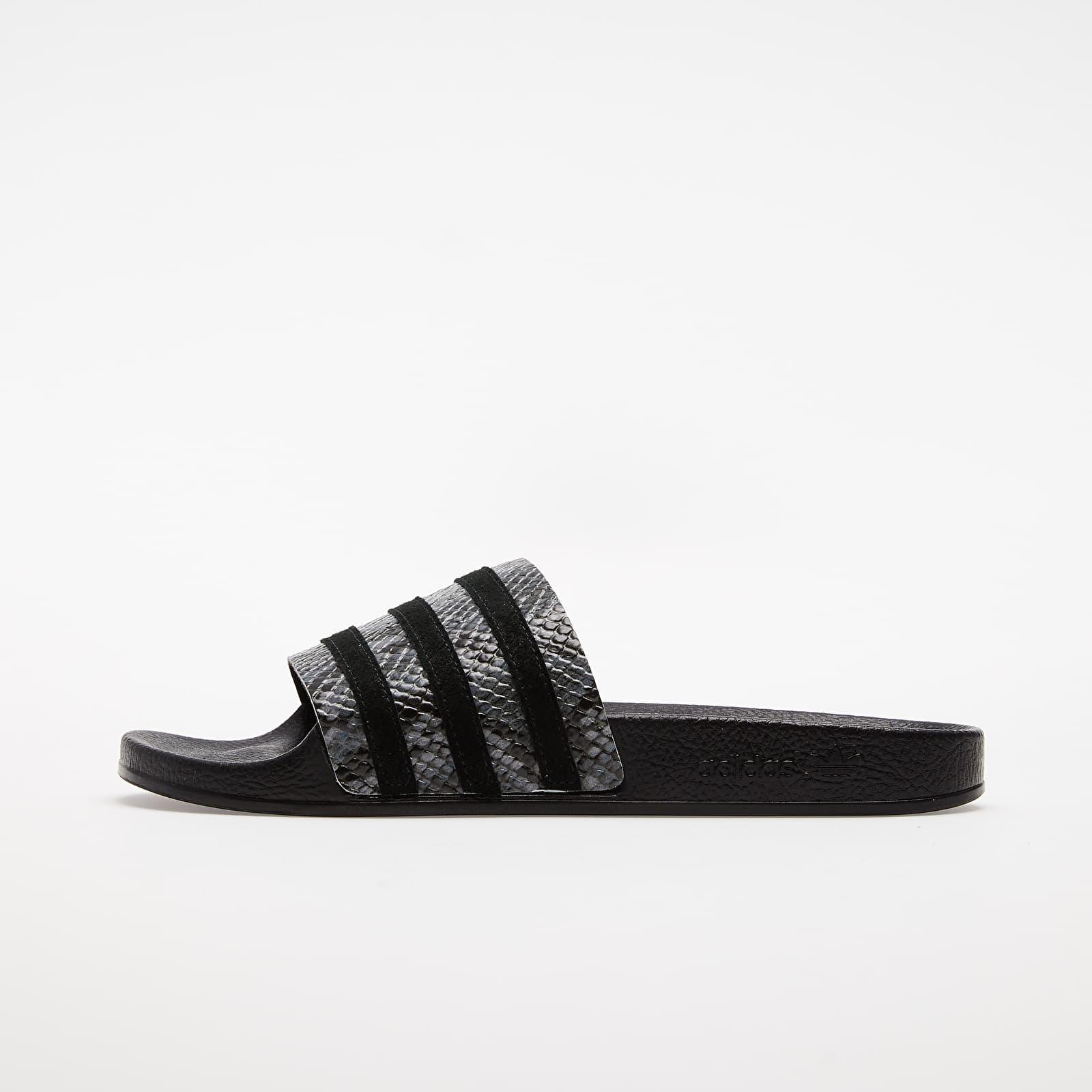 Women's shoes adidas Adilette W Grey Five/ Core Black/ Core Black