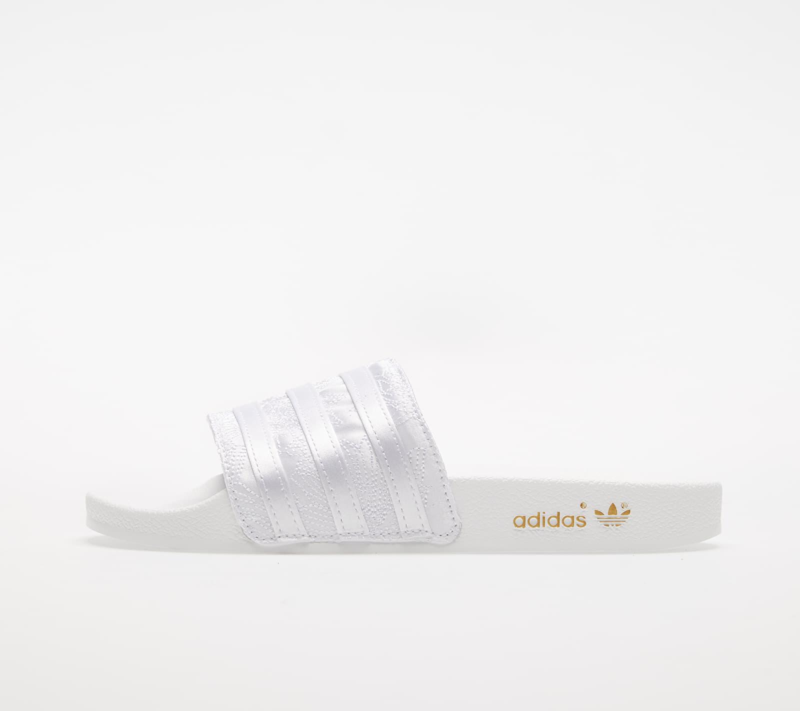 adidas Adilette W Ftw White/ Ftw White/ Gold Metalic 1