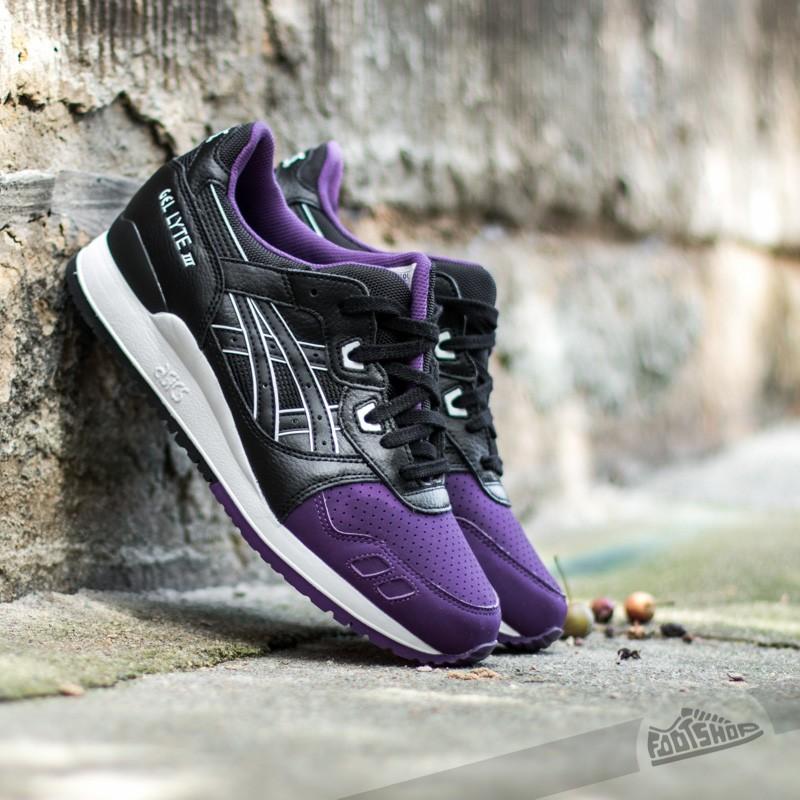 hot sale online 88cf1 f434a Asics Gel Lyte III Purple  Black