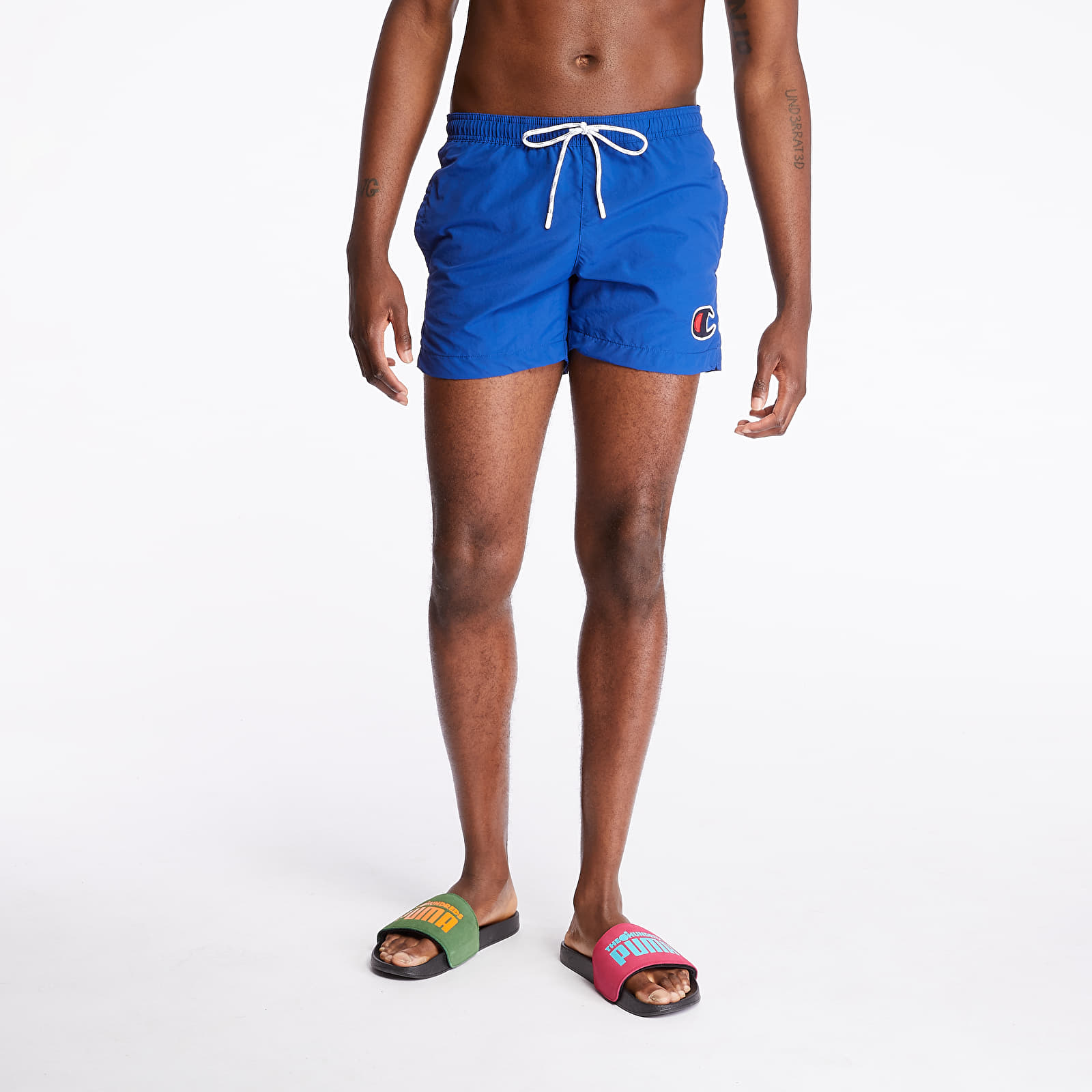 Bademode Champion Swim Shorts Blue
