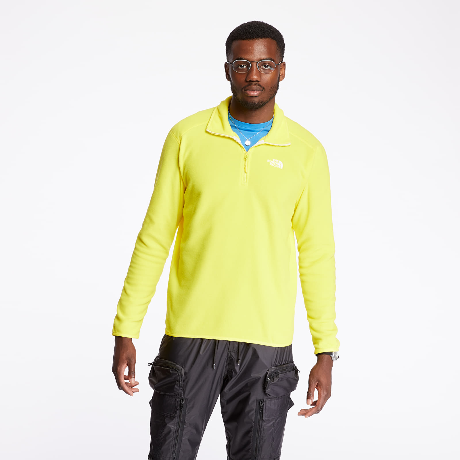 The North Face 100 Glacier 1/4 Zip Pullover