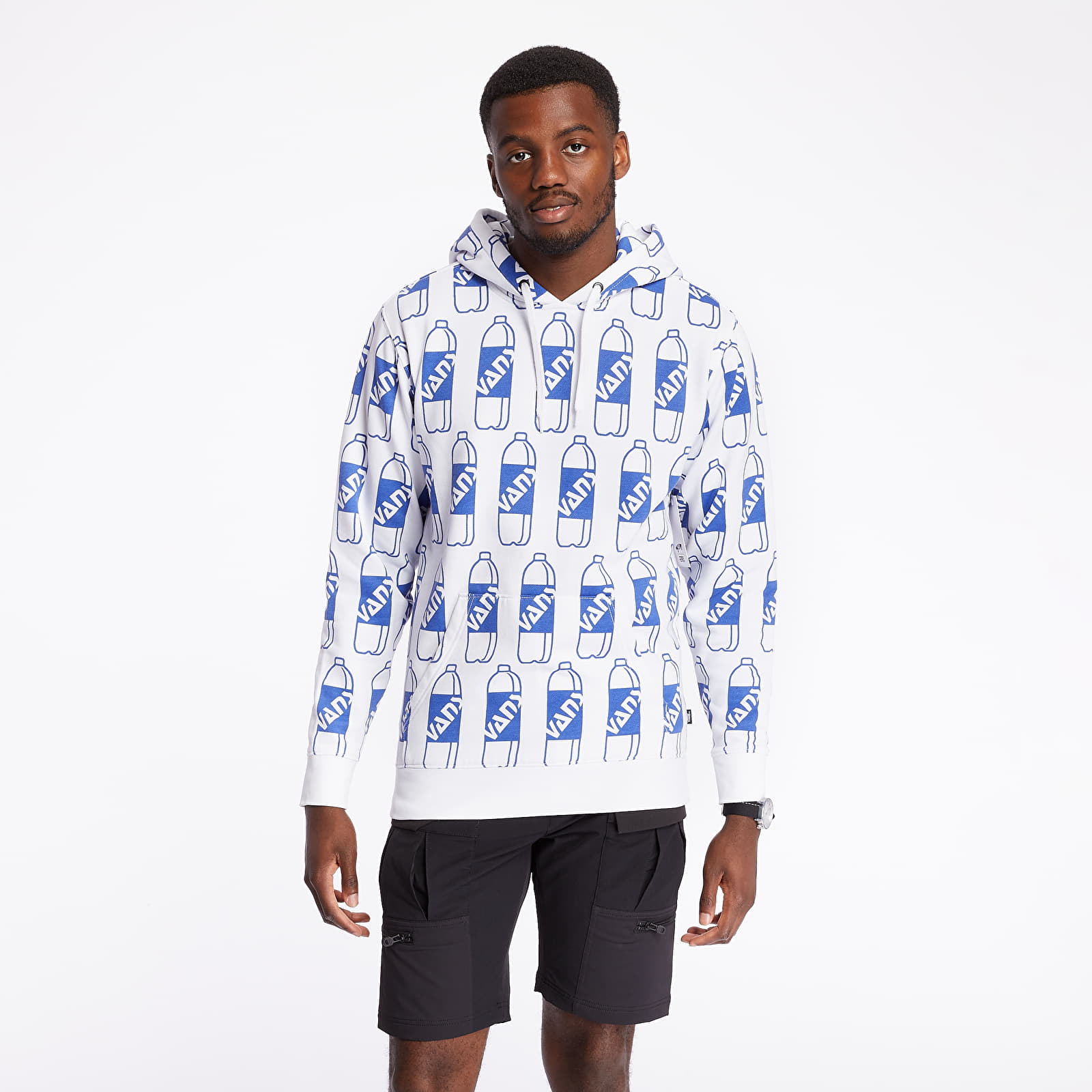 Mikiny a svetry Vans x Fergus Pullover Hoodie White